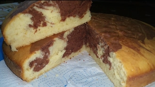 SIMPLE SUPER MOIST MARBLE CAKE RECIPE || HOME MADE!!
