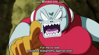 Ribrianne insult Krillin : Dragon Ball Super Episode 117 [ENGLISH SUBBED]