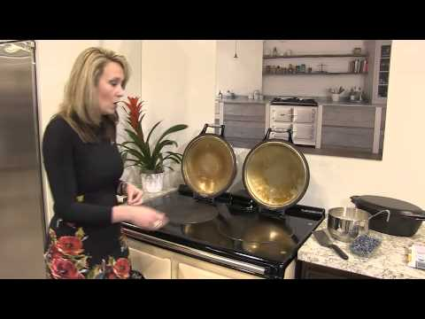 AGA DUAL CONTROL CAST IRON RANGE DEMONSTRATION