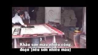 preview picture of video 'Chiếu cói (chiếu lác) Hưng Hà Thái Bình 12-2012'