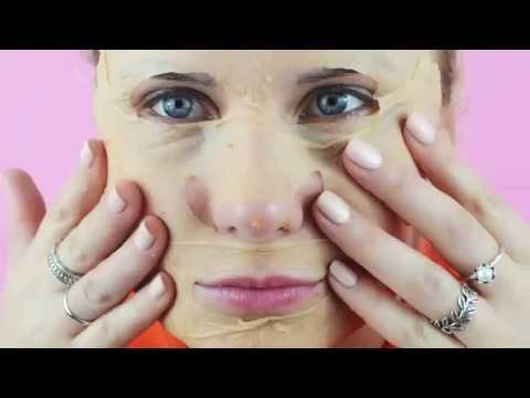 Подтягивающая и улучшающая цвет лица маска из моркови и сельдерея!