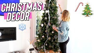 Decorating for Christmas!! Vlogmas Day 4