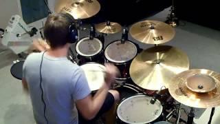 """Drum Cover : Bill Livingstone ~ Fee ~ """"Glory to God Forever"""""""