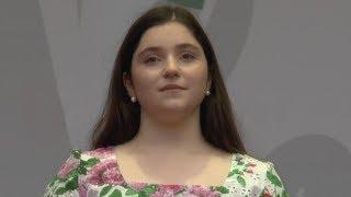 Рагда Ханиева (16 лет). Конь. 04.08.2018.