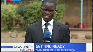 KCPE candidates in Nairobi county begin their exam rehearsals today