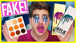 TESTING FAKE KYLIE JENNER PRODUCTS