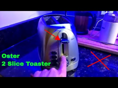 ✅  How To Use Oster 2 Slice Toaster Review