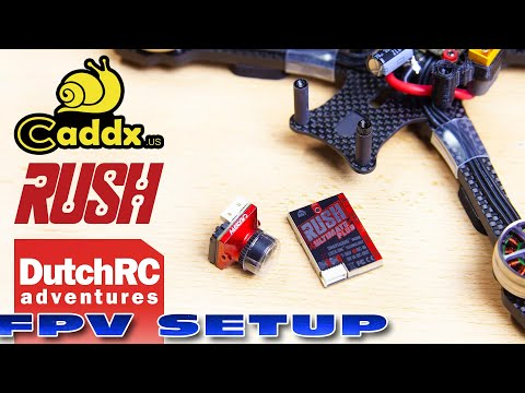 Caddx Ratel v2 + Rush Ultimate Plus mini review