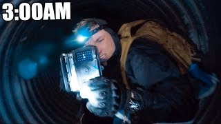 EXPLORING THE HAUNTED TUNNEL AT 3:00AM 😱 (THE RAKE)