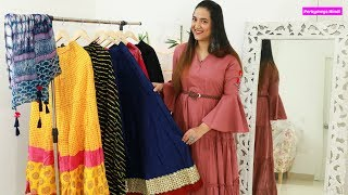 Different Ethnic Skirts और उनकी Styling Tips | My Ethnic Skirts Collection #InsideMyWardrobe EP02