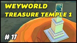 WEYWORLD TREASURE TEMPLE 1 - Godus - Episode 17