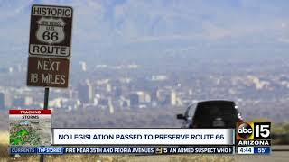 Congress goes on recess without Route 66 preservation funds