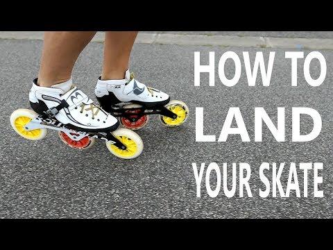 inline skate technique: How i land my skate? (pascal briand vlog 58)