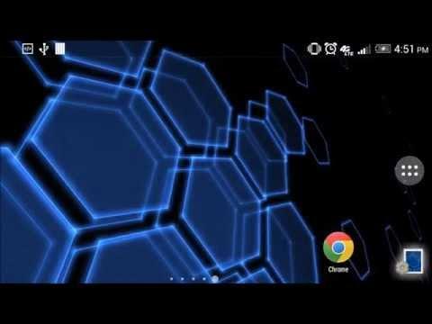 Video of Digital Hive Live Wallpaper