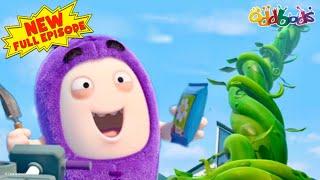 Oddbods | NEW | JEFF & THE BEANSTALK | Full EPISODE | Funny Cartoons For Kids