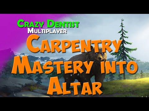 Carpentry Mastery into Altar | Bear clan in FFA | Northgard