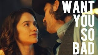 Wynonna & Doc ✘ want you so bad