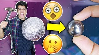The BEST Mirror Polished Japanese Foil Ball CHALLENGE! (FASTEST WAY)