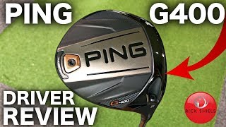 NEW PING G400 DRIVER REVIEW