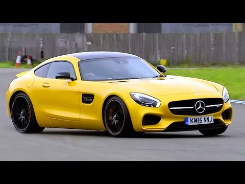 Chris Harris Lap: Mercedes AMG GTS   Extra Gear   Top Gear