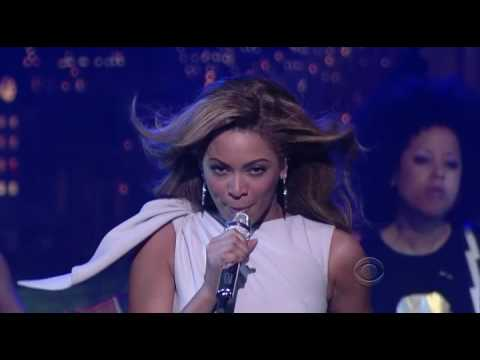 Beyoncé Knowles - Halo (Live @ The Late Show with David Letterman)