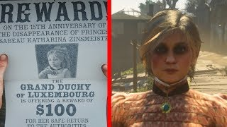 MISSING PRINCESS ISSABEAU FOUND! - Red Dead Redemption 2 Easter Egg
