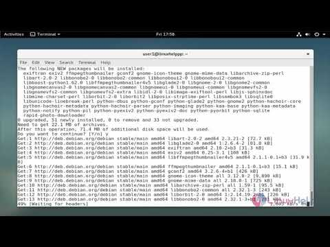 How to install Rapid Photo Downloader on Debian 9 0