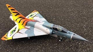 Freewing Mirage 2000C V2 Tiger Meet 80mm EDF Jet Second Flight With John & Bill