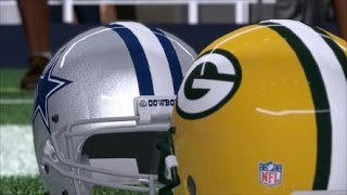 Cowboys vs. Packers | Madden 17 Prediction | NFC Divisional Playoffs