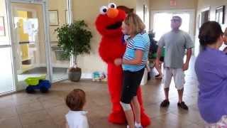 Elmo At Brodys Birthday Party