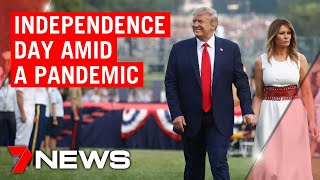 Donald Trump leads Independence Day celebrations amid growing COVID-19 cases | 7NEWS
