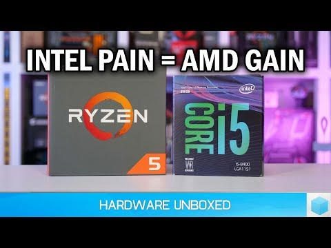 CPU Pricing Update, Ryzen More Affordable Than Ever, Intel Faces Pricing Pain
