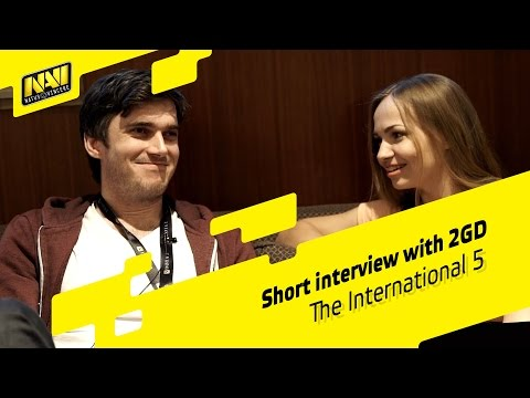 Interview with 2GD - The International 2015 (RU SUBS!)