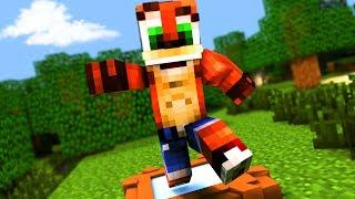 Minecraft Crash Bandicoot - REMASTERED PARKOUR! | Minecraft Roleplay