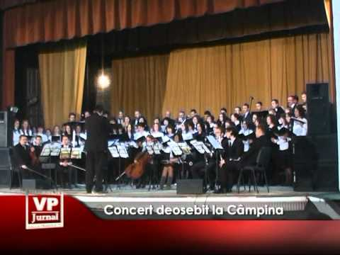 Concert deosebit la Câmpina