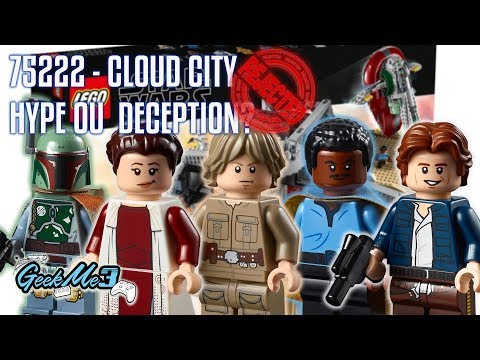 Vidéo LEGO Star Wars 75222 : Trahison à la Cité des Nuages