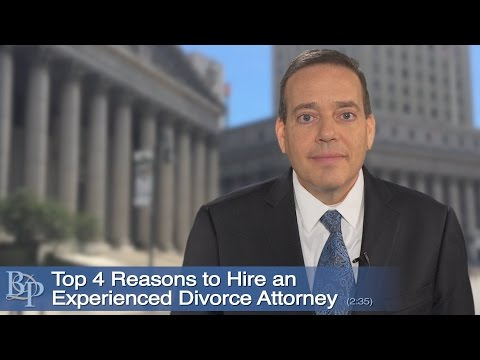Top Four Reasons To Hire An Experienced NY Divorce Attorney
