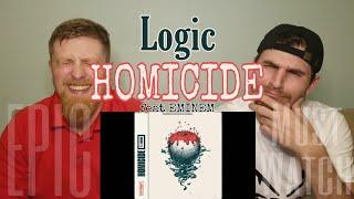Logic - Homicide (ft EMINEM) {{REACTION}}