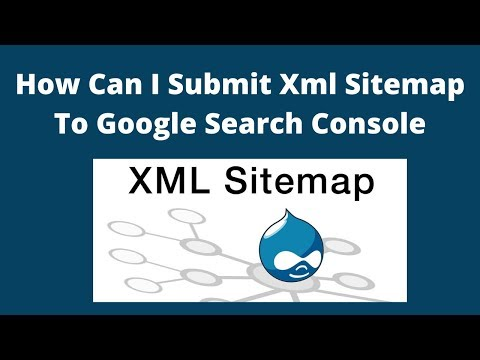 How can i submit xml sitemap to google search console