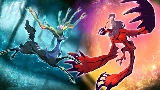 Các Pokemon Huyền Thoại Thế Hệ Thứ 6  Gen 6 Legendaries Pokemon