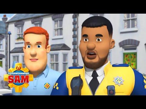 Feuerwehrmann Sam & PC Malcolm machen sich an die Arbeit! | Feuerwehrmann Sam | Cartoons für Kinder