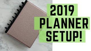 2019 Planner Organization | TUL Discbound Notebook