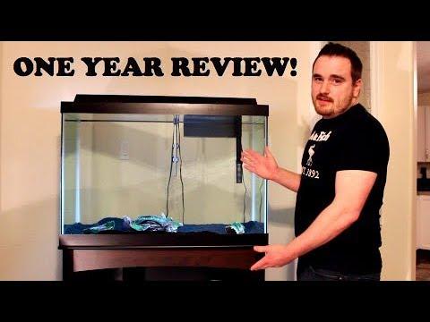 AQUEON 65 GALLON AQUARIUM ONE YEAR REVIEW!