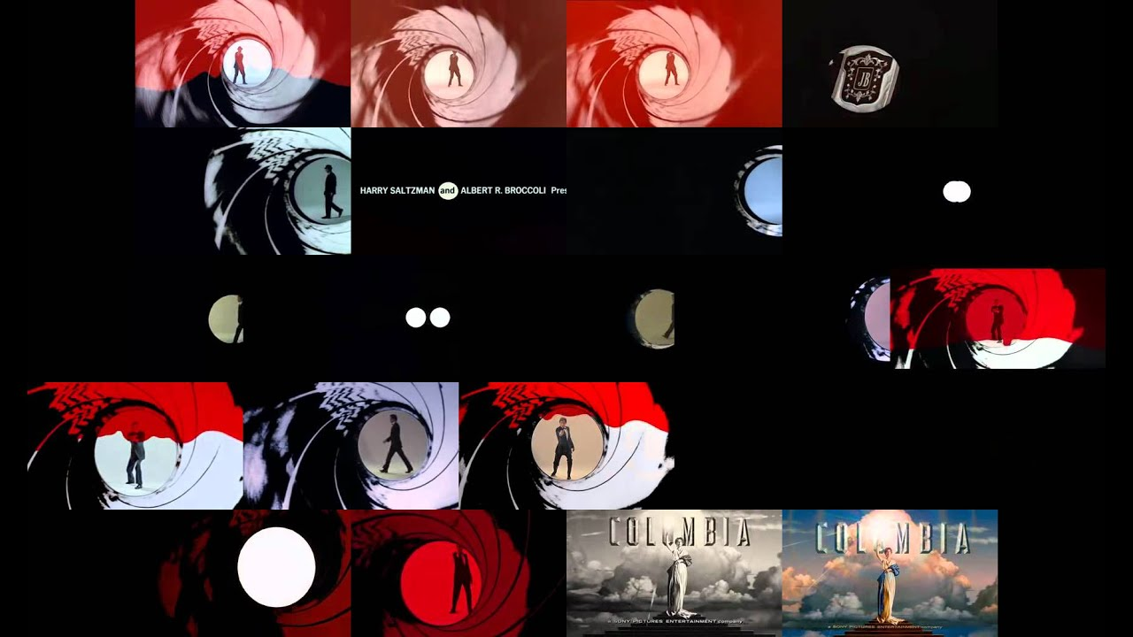 Every Single James Bond Film At Once
