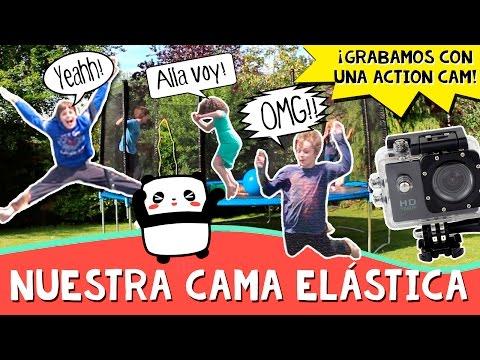 Nueva CAMA ELÁSTICA * Review ACTION CAMERA Flymemo A9