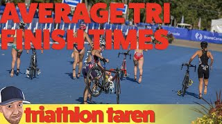 Triathlon Distances: Average Finish Time for Sprint, Olympic, 70.3, and Ironman