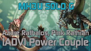 Let's Play MH3U Part 53 - Sand Barioth, G Rank [Solo] [Bow] - hmong