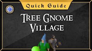 [Quick Guide] Tree Gnome Village
