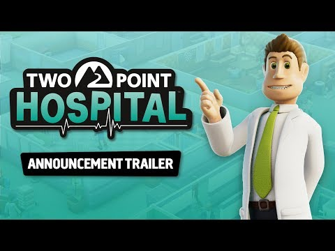 Two Point Hospital - Announcement Trailer!
