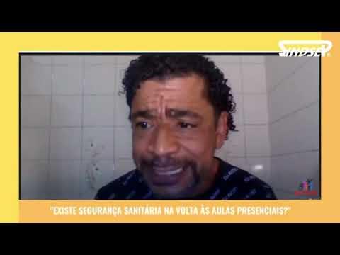 Maciel Nascimento, participa de atividade com Coletivo Paulo Freire sobre segurança sanitária